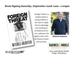 Foreign Threat Book Signing