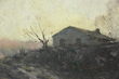 Julian Onderdonk, titled 'Grey Morning', oil on wood