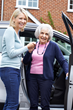 Envoy America Driver Companion helps a client with medical appointment