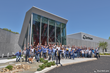 The EarthCam Team celebrated the grand opening of its new headquarters, EarthCampus, in May 2018.