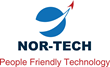 Nor-Tech's People Friendly Technology Logo