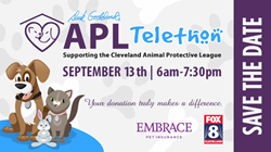Embrace Pet Insurance Cleveland APL September 13 telethon