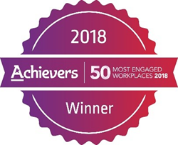 Achievers 50 Most Engaged Workplaces in North America