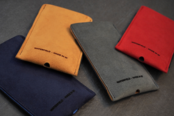 Fused Suede Case — in four striking color combinations