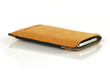 Fused Suede Case — Camel with Ash interior