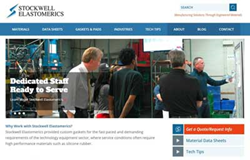 Stockwell Elastomerics New Website Design