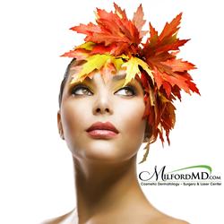 40% and 50% Fall savings at MilfordMD on injectable filler treatments to rejuvenate the body parts that show in warmer clothes: the eyes, face, jawline, décolleté, and hands!