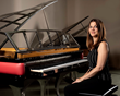 San Francisco pianist/composer Anne Sajdera. (Photo: Davis Digital Design)