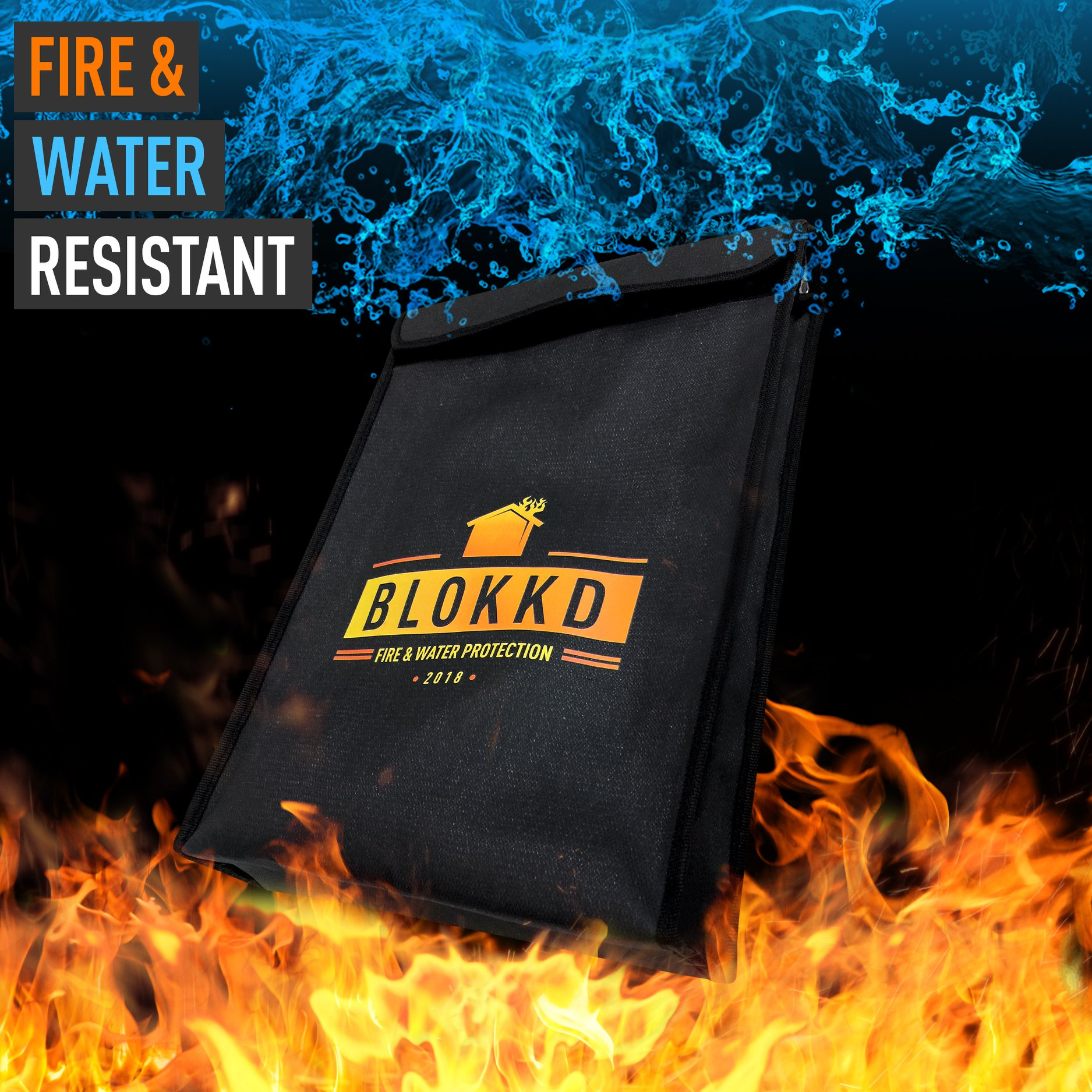 New Product Release Fireproof Lock Box Bag For Documents