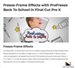 ProFreeze Back To School - FCPX Tools - Pixel Film Studios