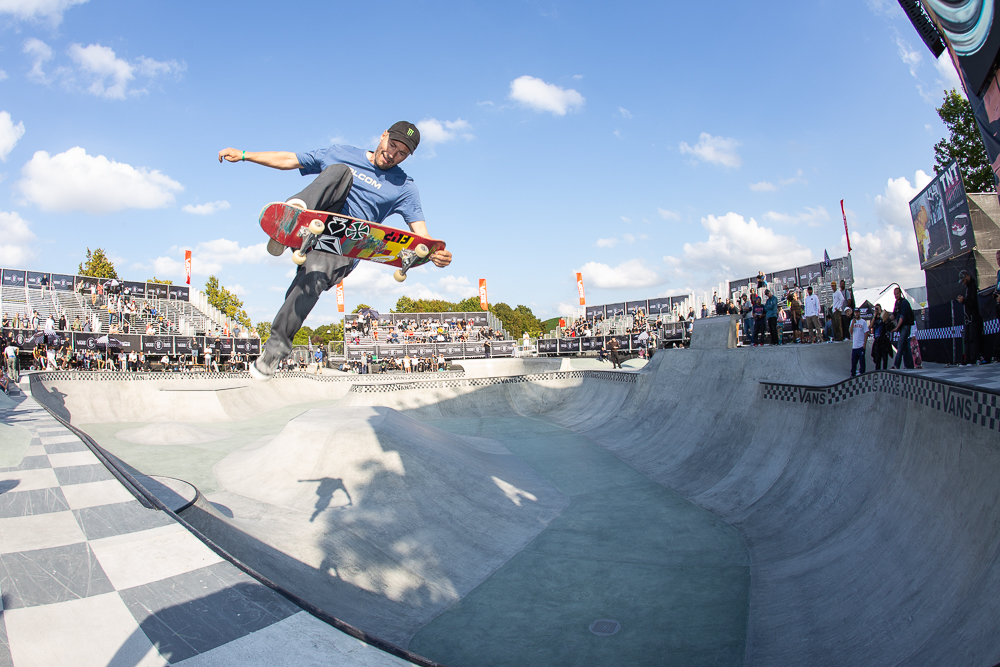 5b14f7adad Monster Energy s Rune Glifberg Takes Fourth at the Vans Park Series Europa  Continental Championships ...