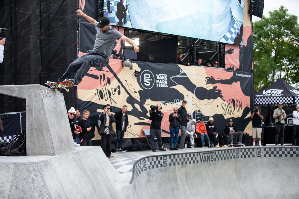 df67813509 Monster Energy s Rune Glifberg Takes Fourth at the Vans Park Series Europa  Continental Championships