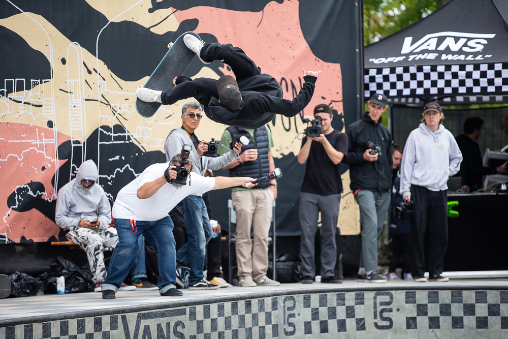 978b1d0b06 Monster Energy s Trey Wood Competes at the Vans Park Series Europa  Continental Championships ...