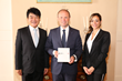 Joseph Muscat with G8C Co-CEOs