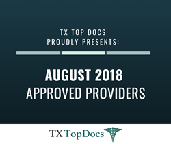TX Top Docs - August 2018 Approved Providers