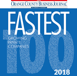 Century Business Solutions Named 21st Fastest-Growing Midsize Company in Orange County
