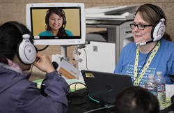 InDemand Interpreting will provide video remote interpreting at the 2018 Seattle - King County Clinic