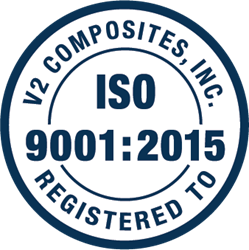 V2 Composites was recently recertified as an ISO 9001:2015 company.