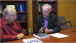 Jim Blair and Marc Kiner of Premier Social Security Consulting. (ITN Productions Image)