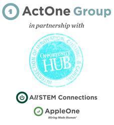 ACTOne + OHUB Partnership Logo