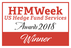 HFMWeek US Hedge Fund Services Awards 2018 Winner Logo