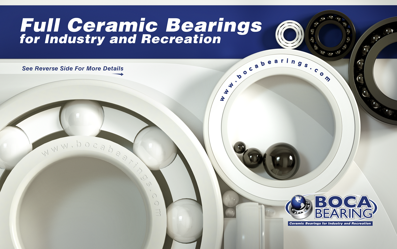 New and Expanded Inventory of Full Ceramic Bearings