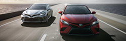 two 2019 Toyota Camrys