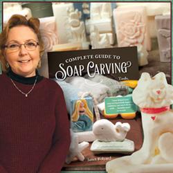 Woodcraft Store Manager Writes Guide to Learn Carving with Soap