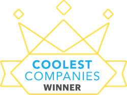Crown with Coolest Companies Winner inside