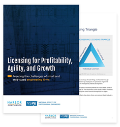 Image of white paper on engineering licensing.
