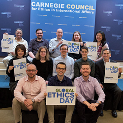 Happy Global Ethics Day from Carnegie Council!