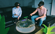 "LlamaZOO's ""MineLife"": An interactive and immersive virtual replica of mine planning data developed for Microsoft Hololens, VR headsets (including Microsoft Mixed Reality Headsets), and desktop 3D."