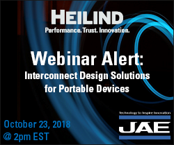 Heilind and JAE co-sponsoring webinar next month