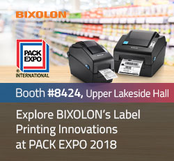 Explore BIXOLON's Label Printing Innovations at PACK EXPO 2018
