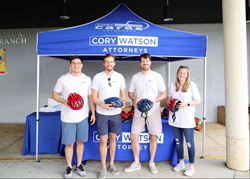 Cory Watson, Personal Injury, Birmingham, Alabama, Cory Watson Cares, Read and Romp, Bicycle Safety
