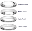 Different Finishes for Wedding Bands