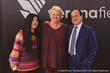 [Left to right: Stevie Kim, Managing Director of Vinitaly International; Lynne Sherriff MW, Senior General Chairman of 5StarWines 2019; Giovanni Mantovani, CEO of Veronafiere]