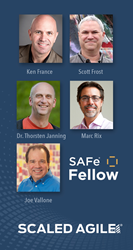 Scaled Agile welcomes five inductees into the SAFe Fellow Program