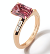 Pink Sapphire Ring by Valani Atelier