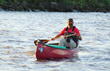 Erik Elsea nears the end of his Mississippi River Expedition for ShelterBox. ShelterBox USA photo.