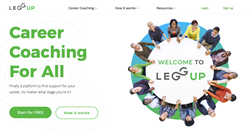 LeggUP is enterprise-level career development through a web-based app.
