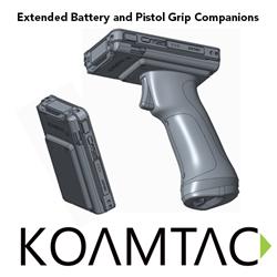 Extended Battery Companion Pistol Grip Companion KDC KOAMTAC