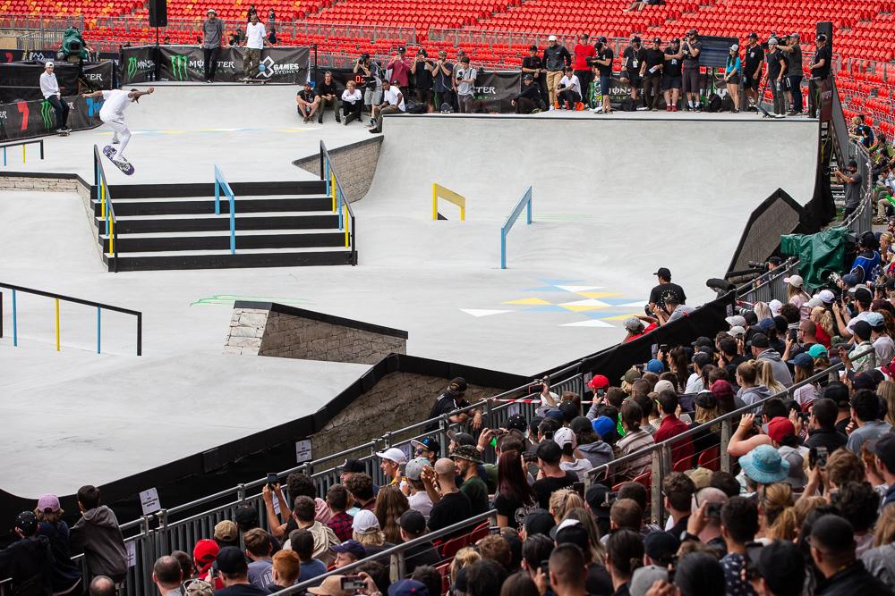 Monster Energy's Nyjah Huston Takes Gold in Skateboard