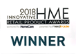 Triple W Wins Innovative HME Retail Product Award for DFree at Medtrade.