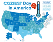 Coziest Day of the Year, According to Science