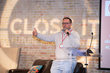 Brian Fleming of SNUH's Sandbox Collaborative on stage at the Close It Summit: Future Meets Now in Austin, Texas on October 16, 2018
