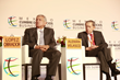 Andres Manuel Lopez Obrador and MIguelAleman Velasco at the Mexico Business Summit