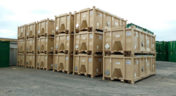 SECUR IP-1 intermodal containers