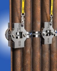 Esco HOG TIE® Boiler Tube Weld Alignment Clamp is now offered with a safety lanyard to prevent dropping.