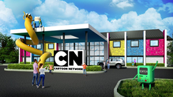 Rendering of the Cartoon Network Hotel